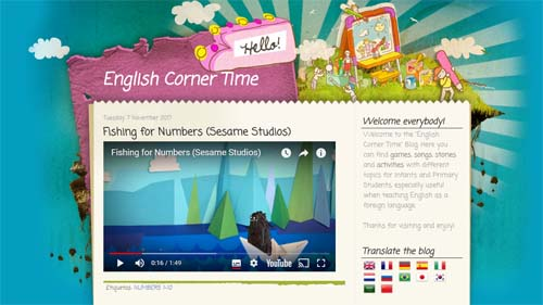 Blog English Corner Time