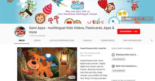 sami apps: canales de YouTube para Infantil y Primaria imprescindibles!