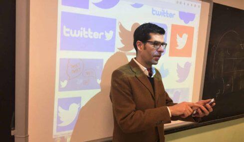 Eduardo Infante, el profesor que enseña filosofía a sus alumnos en Twitter 1