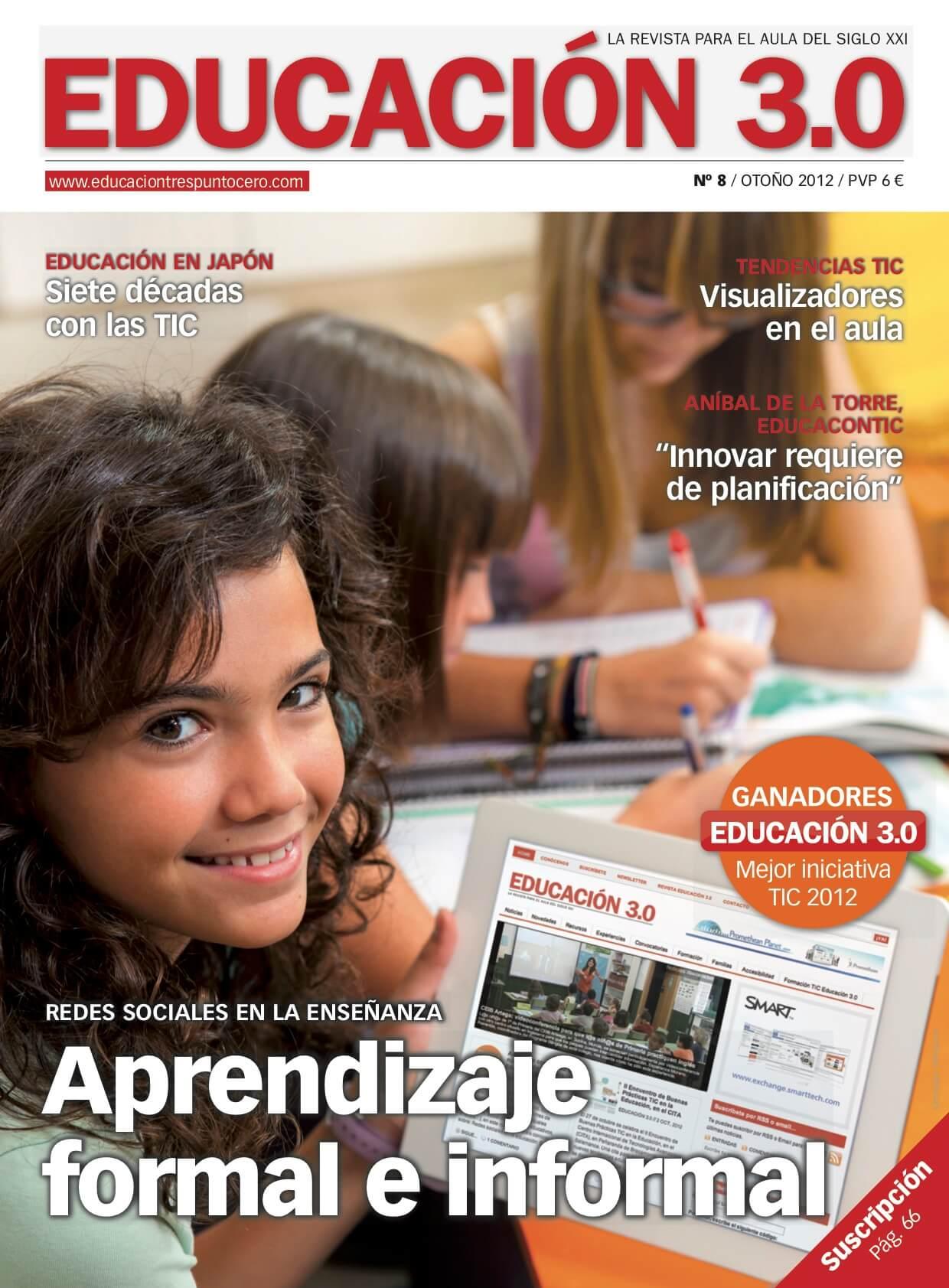 Número 8 de la revista Educación 3.0