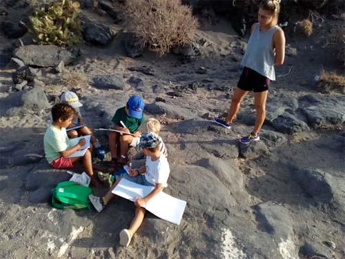 Playa escuela El Medrano