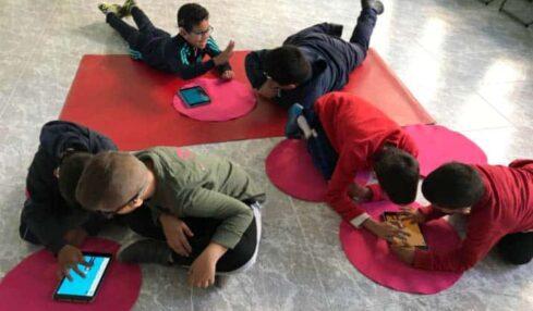La robótica y la programación llegan a las aulas del colegio La Purísima para niños sordos (Zaragoza) 1