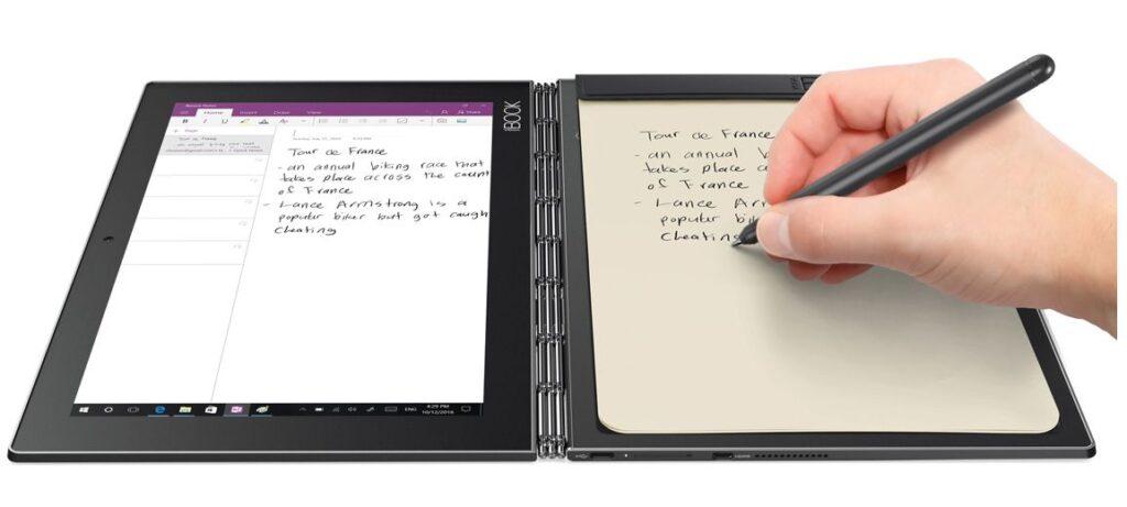 lenovo yoga book - dispositivos navidad