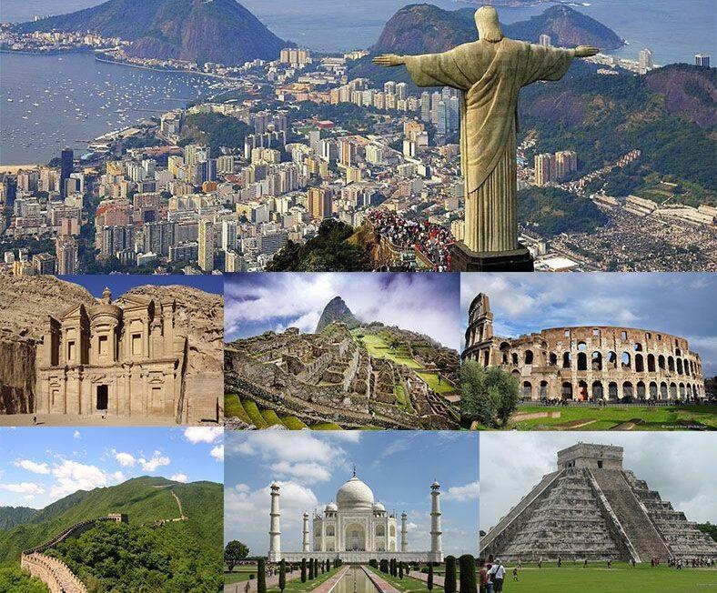 Visita las 7 maravillas del mundo