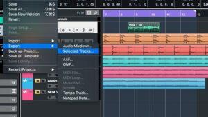 Herramientas para grabar audio: Cubase