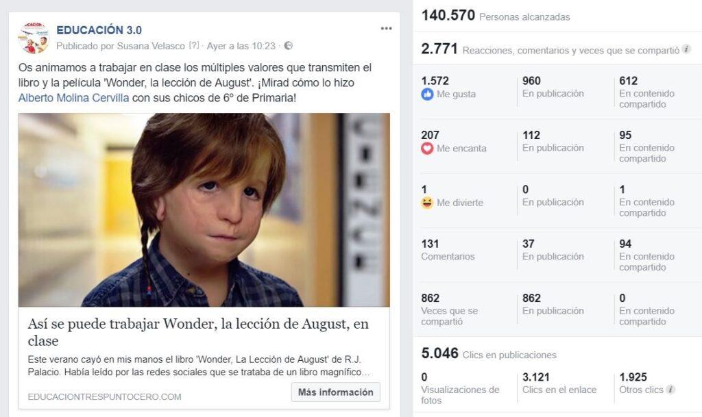 EDUCACIÓN 3.0 Facebook