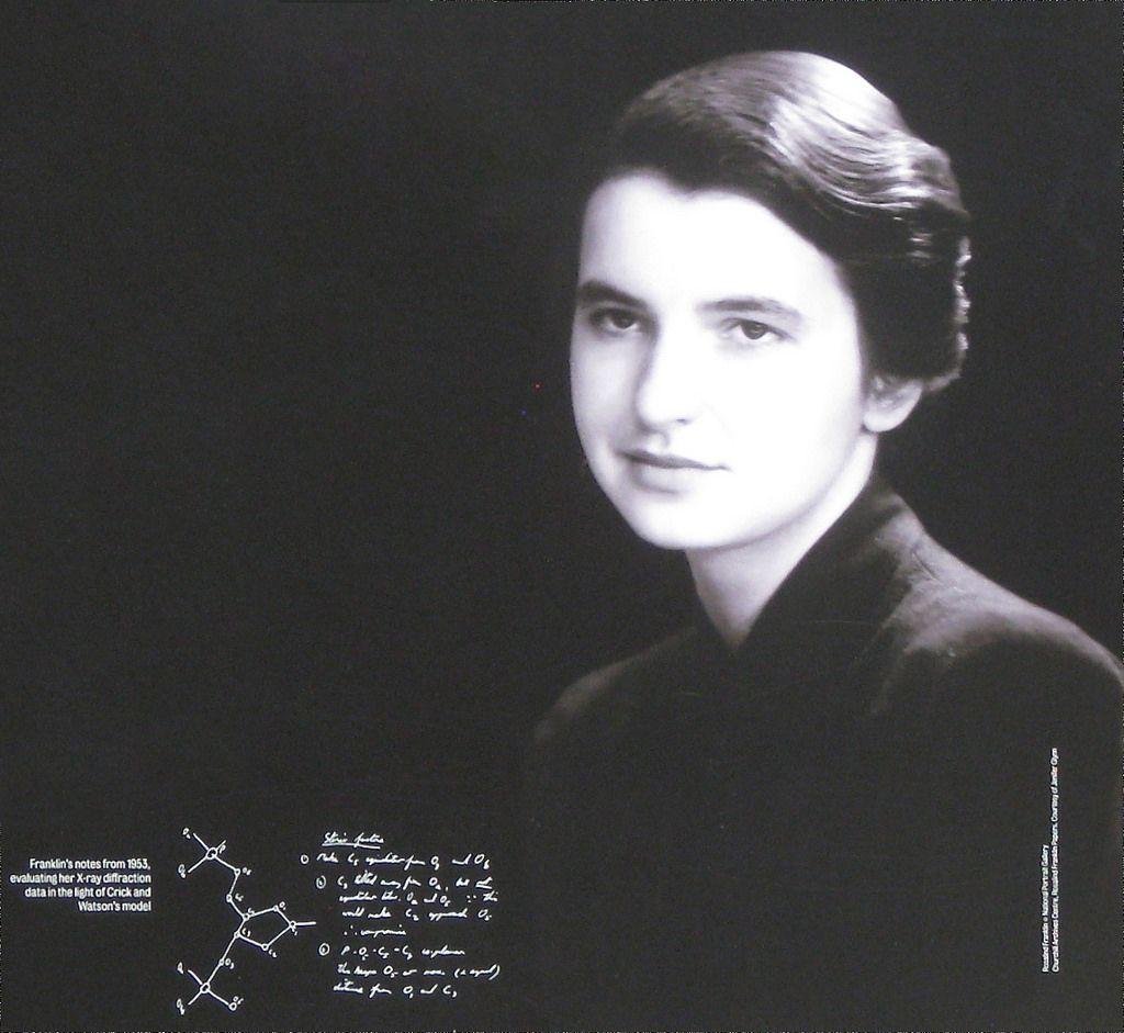 Rosalind Franklin - mujeres cientificas
