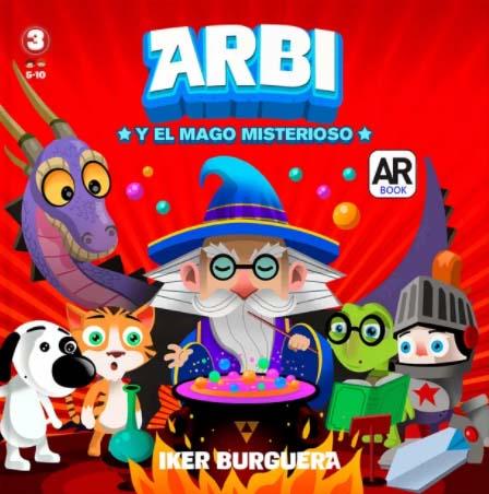 ARBI y el mago misterioso, libros con realidad aumentada