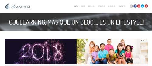 Ojúlearning, blog para la formación docente
