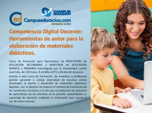 cursos para docentes Campuseducación.com
