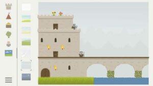 castle block app infantil educación