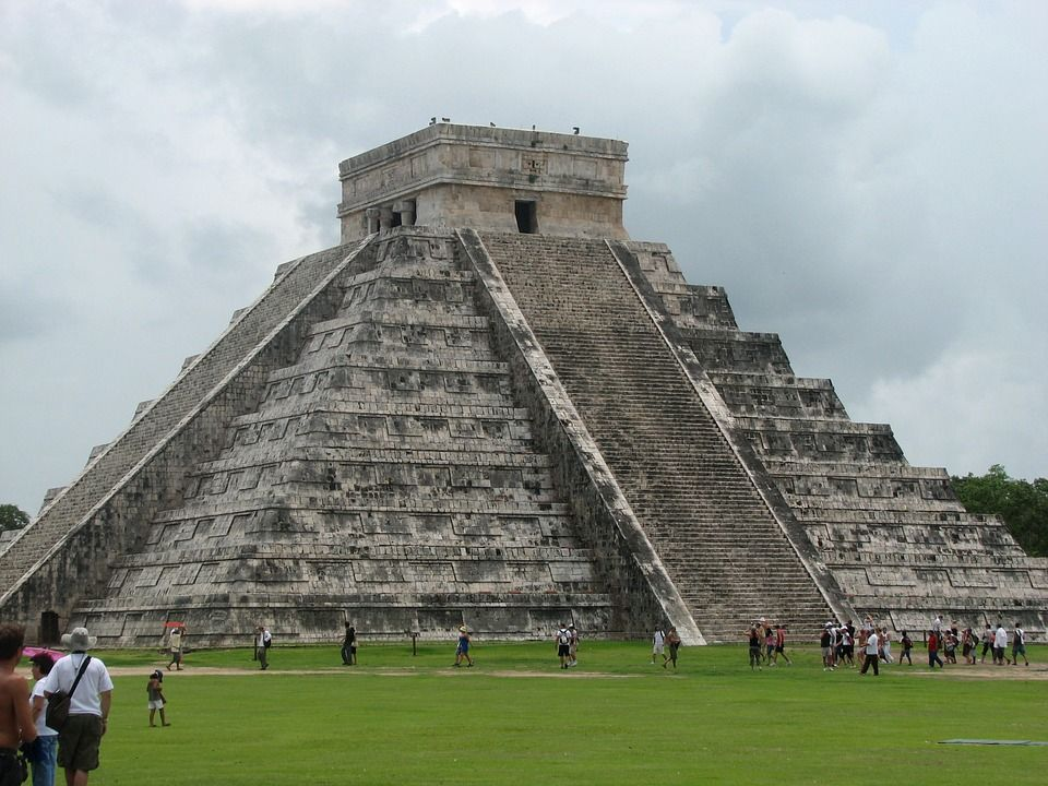 Chichén Itzá, en Yucatán (México)