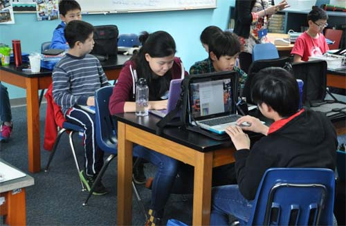 Shanghai Mastery Clase de matemáticas chinas