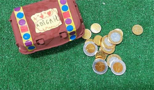 Cofre del tesoro: juegos para aprender la tabla de multplicar