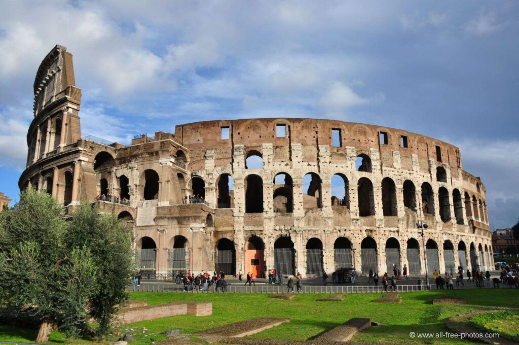 El Coliseo, en Roma (Italia)