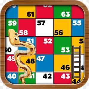 Escaleras y serpientes, uno de los juegos de mesa educativos disponibles en formato app