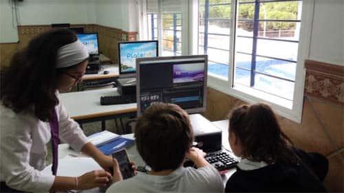 El periodismo llega a las aulas del colegio Platero Green School