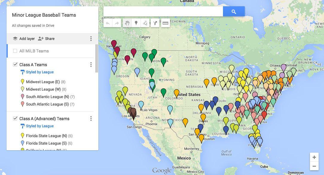 google my maps - recursos para aprender historia y geografia