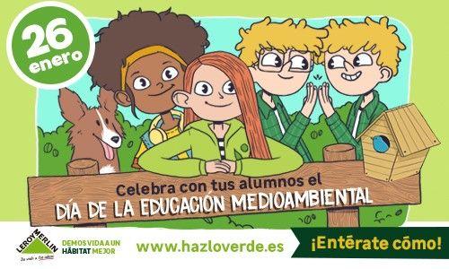 'Hazlo verde', el concurso para celebrar el Día Mundial de la Educación Medioambiental 1