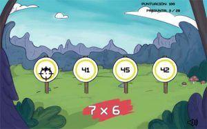 50 juegos interactivos para repasar y aprender las tablas de multiplicar 50
