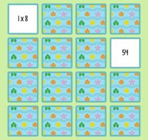 45 juegos interactivos para repasar las tablas de multiplicar 45