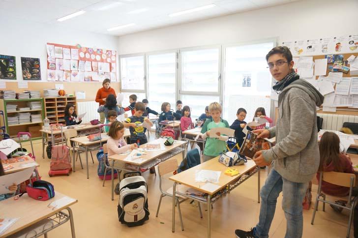 Alumnos de Primaria y Bachillerato de Zaragoza se unen en el proyecto 'Más que Arte' 10