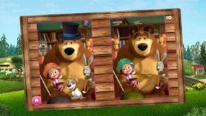 app infantil educación masha oso