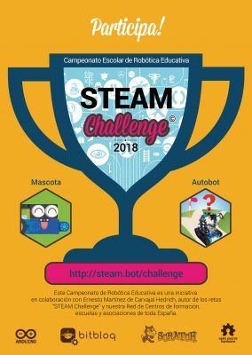 Robótica Educativa steam challenge