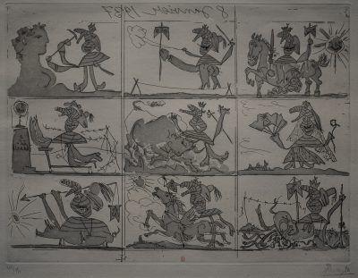 sueño y mentira de Franco - encargo del Guernica