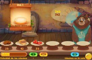 50 juegos interactivos para repasar y aprender las tablas de multiplicar 52