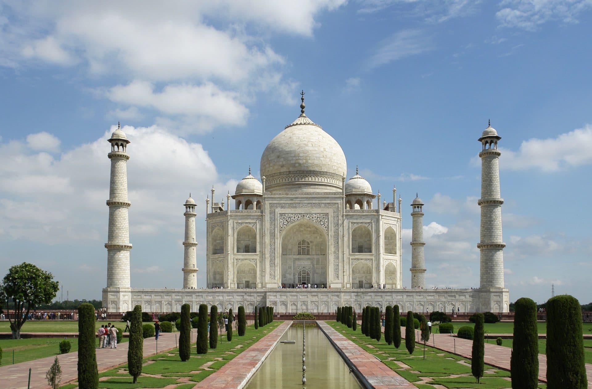 las 7 maravillas del mundo: El Taj Mahal