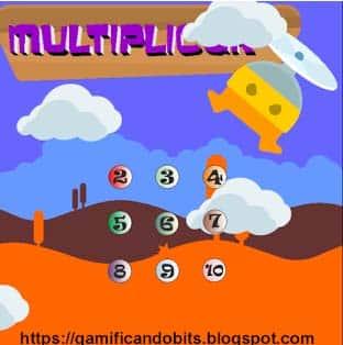 Videojuegos curriculares: juegos de multiplicar
