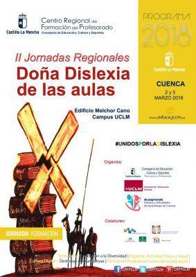 2ª jornadas regionales de formación DOÑA DISLEXIA DE LAS AULAS