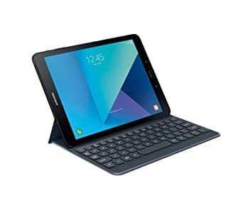 Funda con teclado gris Samsung para Galaxy Tab