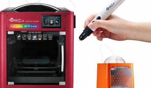 Impresión 3D fácil y segura con XYZPrinting 1