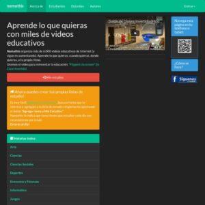 Webs para aprender y formarse con ayuda de vídeos 2