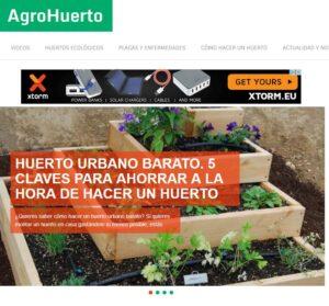 Webs de inspiración para crear un huerto urbano en clase 4