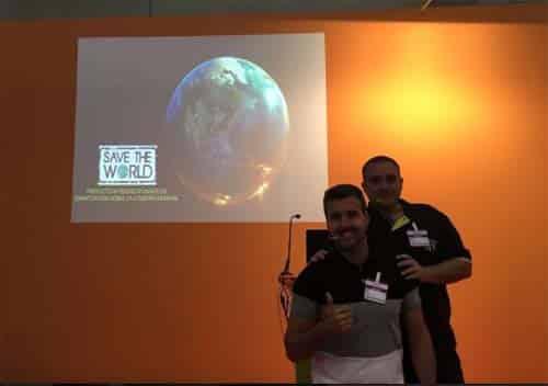'Save the World', experiencia de gamificación