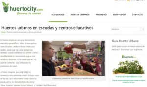 Webs de inspiración para crear un huerto urbano en clase 6