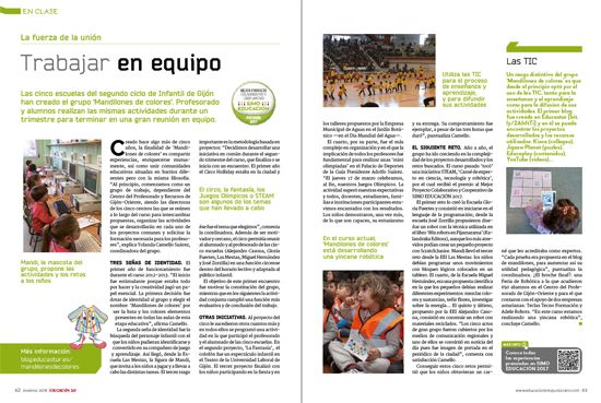 en clase revista EDUCACIÓN 3.0