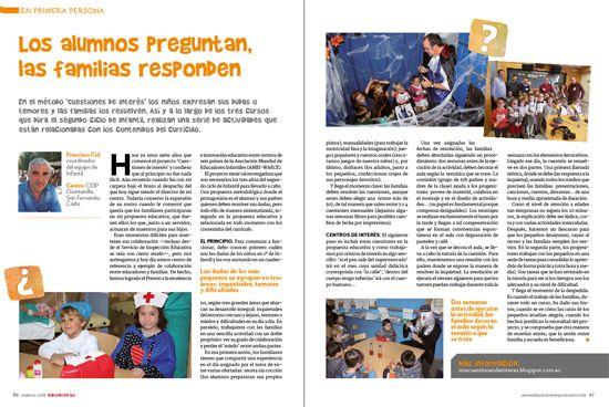 en primera persona revista EDUCACIÓN 3.0