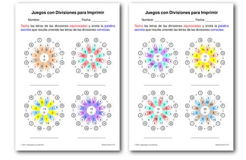 ▷ DIVISIONES: 15 recursos para aprenderlas y repasarlas en primaria