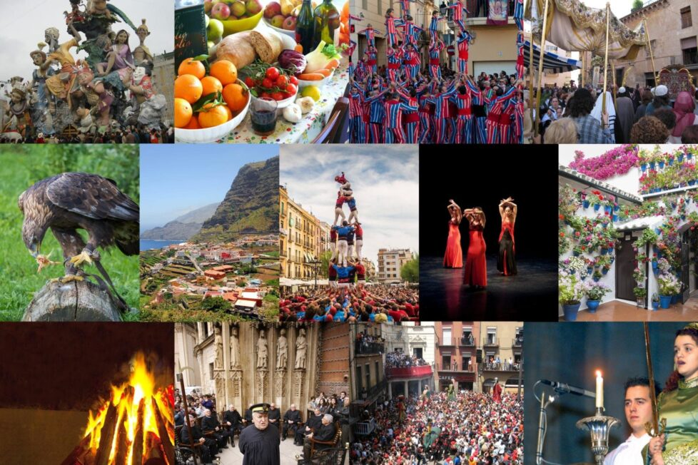 Descubre el patrimonio cultural inmaterial de España en el aula 14