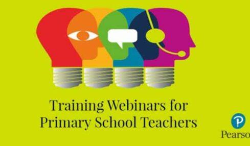 Webinars gratuitos de Pearson para los docentes de Inglés de Primaria 1