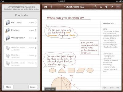 Notes Plus PARA TOMAR NOTAS EN TABLET
