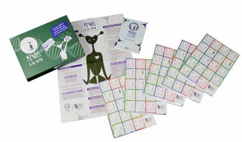 Mendel a la carta, un juego de cartas para aprender las leyes de la herencia biológica