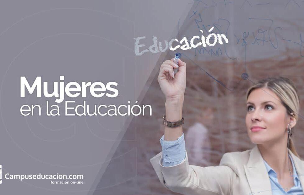 Mujeres en la educación, por Campuseducacion.com 1