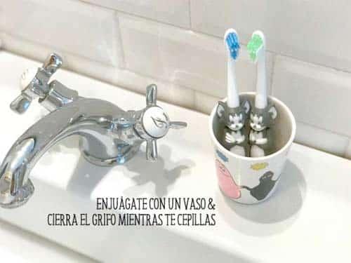 ideas para ahorrar agua- Día Mundial del Agua