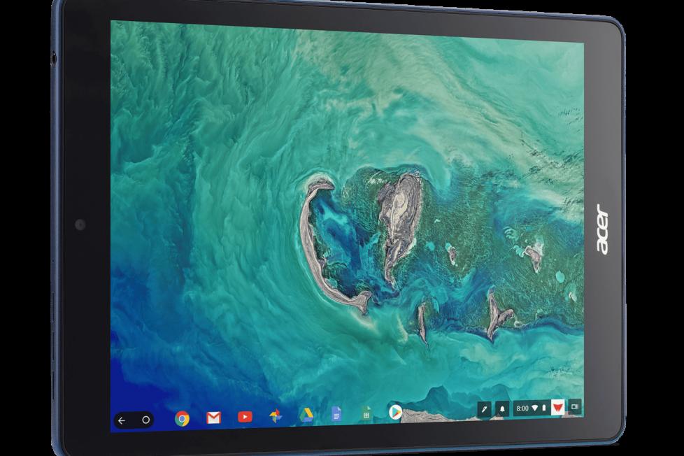 ¿Una tableta con sistema operativo Chrome? Sí, y es de Acer 1
