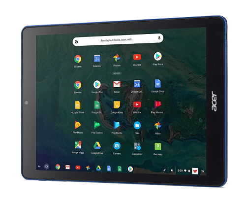 Acer Chromebook Tab 10 D651N wp launcher open Play Store and stylus 05